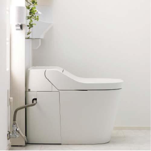 アラウーノ専用手洗い 背面タイプ [XGH8HGJGZ△] 床排水 壁排水 (後ろ抜き) 自動水栓 タイプB