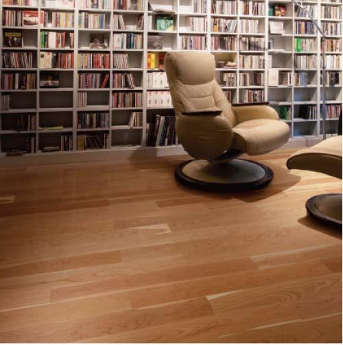 送料無料 【イクタ】床材 厚貼フローリング 床暖対応 2.0mm単板 14枚入り 3.05 12X120X1818 ブラックチェリー[C-214-L]