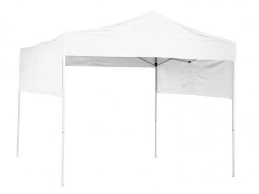 メーカー直送 RAIMU(来夢) 業務用日除けテント [J2727-WH] 2.7mx2.7m ホワイト(白) かんたんテント ワンタッチテント 展示会テント