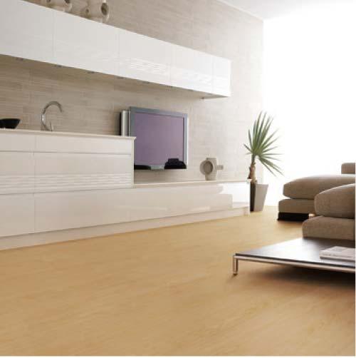 【イクタ】床材 パワフルKID 床暖対応 6枚入り 3.3 1X6 2P クリヤーメープル[KID-004]