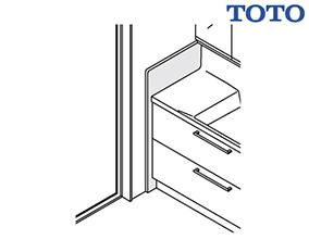 エンドパネル(トル用) [LO74] TOTO 洗面化粧台 オプション