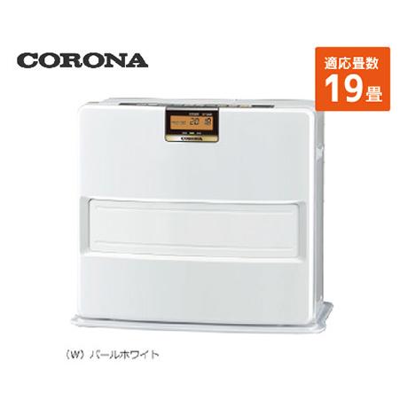 コロナ 石油ファンヒーター [FH-VX7318BY(W)] 19畳 暖房器具 ヒーター ストーブ CORONA
