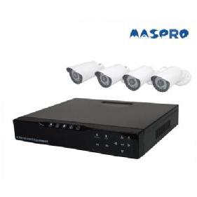 ハイビジョンカメラ4台+レコーダーセット 監視カメラ [K-AT-K9304HD] マスプロ MASPRO 防犯カメラ