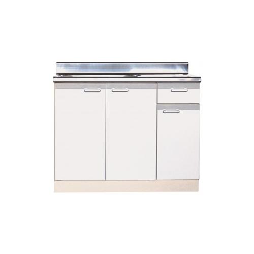 メーカー直送品 法人様限定商品 地域限定 送料無料 セクショナルキッチン 流し台 左右水槽有り LFタイプ [LFN-1000(R/L)**] ライフ 幅1000 奥行560