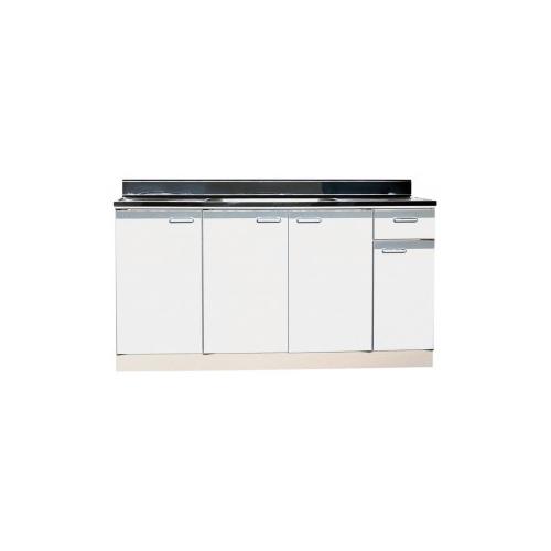 メーカー直送品 法人様限定商品 地域限定 送料無料 セクショナルキッチン 流し台中水槽 Rタイプ [RBN-1500**] ライフ 幅1500 奥行550