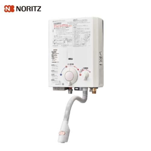 送料無料 NORITZ ガス小型湯沸器 給湯専用 [GQ-531MW-13A] 13A(都市ガス) 5号 元止め式 オートストップなし ノーリツ