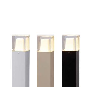 【法人様限定商品】メーカー直送 タカショー Takasho HBC-D39G エクスレッズポールライト 3型 グレイッシュゴールド (電球色) 旧品番 HBC-D04G