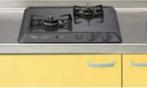 メーカー直送 送料無料 【LIXIL】【リクシル】加熱機器 ガステーブル2口コンロ・ホーロートップタイプシステムキッチン用(ドロップインコンロ)[R1420B0LHN]【サンウェーブ】
