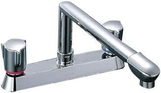 【LIXIL】【リクシル】ツーホールタイプ キッチン用水栓2ハンドル アステシア[SF-7130]【INAX】【イナックス】