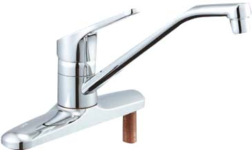 【LIXIL】【リクシル】ツーホールタイプ キッチン用水栓シングルレバー[SF-HB430SYN]【INAX】【イナックス】