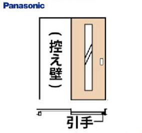 パナソニック 内装ドア 上吊り引戸 片引き SC型 [XMJE1SCDNU1R(L)71**] リビング 1645mm 155タイプ 固定枠 送料別途お見積り 送料無料ではありません