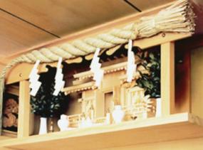 メーカー直送 送料無料 クボデラ 神棚セット [正統本格セット] 神棚 神具