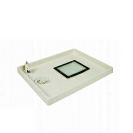 メーカー直送 コックタッチエンデバー 左水栓 透明点検口 排水口位置:中央(C) [TSC-800L(CL)] テクノテック 代引き・時間指定不可
