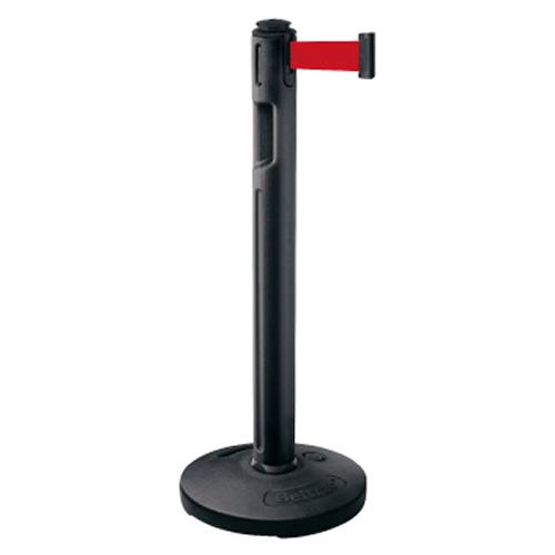 メーカー直送 サンポール 屋外型ベルトリール φ89×H993mm カラー:ベルト赤 [BR-500B(RD)]