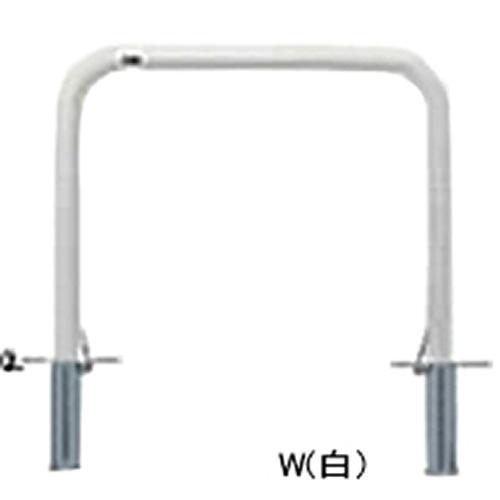 メーカー直送 サンポール アーチ φ60.5(t2.8)×W1000×H800mm カラー:白 [FAA-7SF10-800(W)]