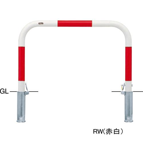 メーカー直送 サンポール アーチ φ60.5(t2.8)×W1000×H650mm カラー:白 [FAA-7SK10-650(W)]