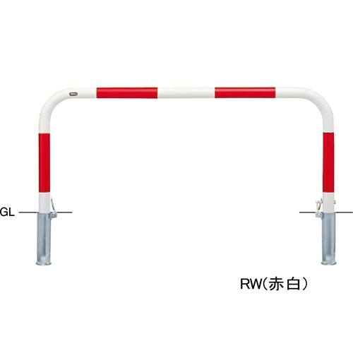 メーカー直送 サンポール アーチ 交換用本体のみ φ60.5(t2.8)×W1500×H650mm カラー:白 [FAA-7SK15-650(W)HONTAI]
