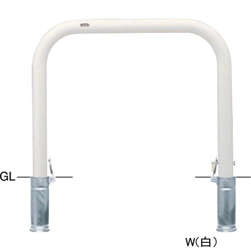 メーカー直送 サンポール アーチ 交換用本体のみ  [FAA-8SK10-800(W)HONTAI] φ76.3(t3.2)×W1000×H800mm SUNPOLE