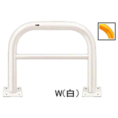 メーカー直送 サンポール アーチ φ101.6(t4.2)×W1000×H800mm カラー:黄 [FAH-11B10-800(Y)]