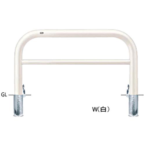 メーカー直送 サンポール アーチ   [FAH-11SF15-800(W)] φ101.6(t4.2)×W1500×H800mm SUNPOLE