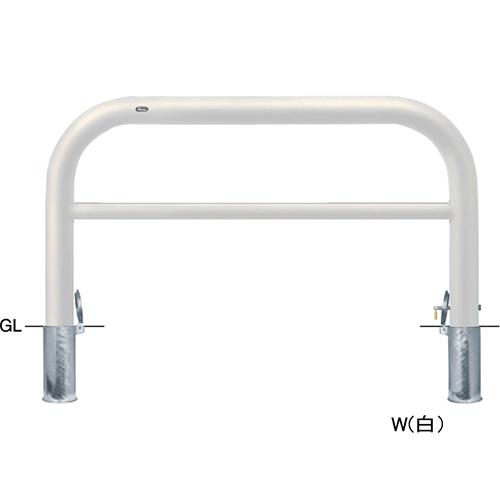 メーカー直送 サンポール アーチ   [FAH-11SK15-800(W)] φ101.6(t4.2)×W1500×H800mm SUNPOLE