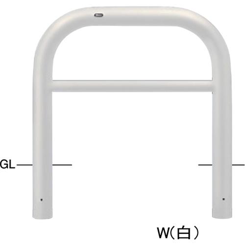 メーカー直送 サンポール アーチ  [FAH-11U10-800(Y)] φ101.6(t4.2)×W1000×H800mm SUNPOLE