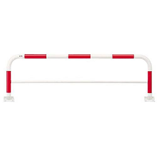 メーカー直送 サンポール アーチ φ60.5(t2.8)×W2000×H650mm カラー:赤白 [FAH-7B20-650(RW)]