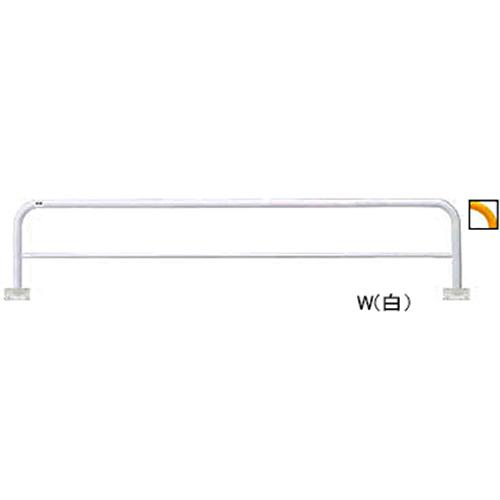 メーカー直送 サンポール アーチ φ60.5(t2.8)×W3000×H650mm カラー:黄 [FAH-7B30-650(Y)]