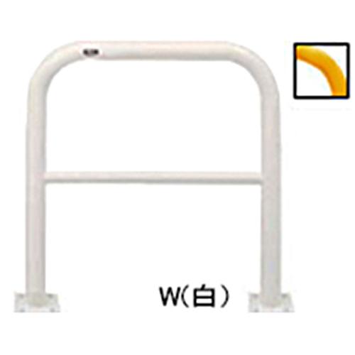 メーカー直送 サンポール アーチ φ60.5(t2.8)×W750×H800mm カラー:黄 [FAH-7B75-800(Y)]