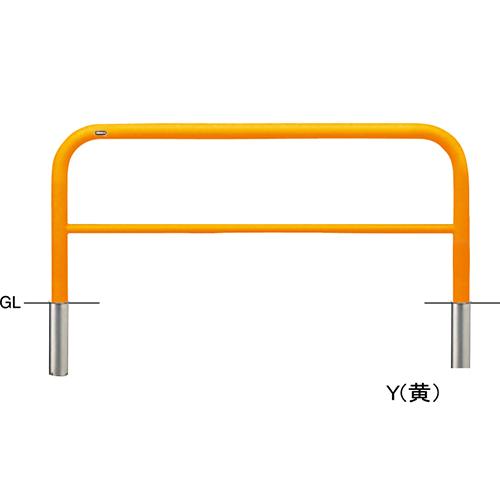 メーカー直送 サンポール アーチ 交換用本体のみ  [FAH-7S15-650(Y)HONTAI] φ60.5(t2.8)×W1500×H650mm SUNPOLE