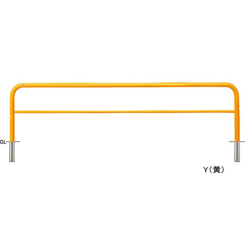 メーカー直送 サンポール アーチ 交換用本体のみ φ60.5(t2.8)×W3000×H800mm カラー:赤白 [FAH-7S30-800(RW)HONTAI]
