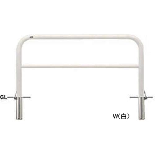 メーカー直送 サンポール アーチ φ60.5(t2.8)×W1500×H800mm カラー:白 [FAH-7SF15-800(W)]