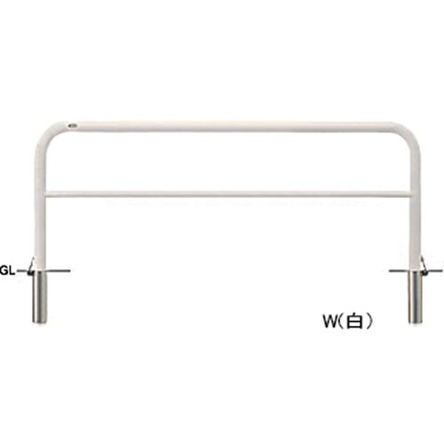 メーカー直送 サンポール アーチ   [FAH-7SF20-800(W)] φ60.5(t2.8)×W2000×H800mm SUNPOLE