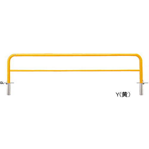 メーカー直送 サンポール アーチ   [FAH-7SF30-650(W)] φ60.5(t2.8)×W3000×H650mm SUNPOLE