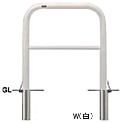 メーカー直送 サンポール アーチ 交換用本体のみ  [FAH-7SF75-800(W)HONTAI] φ60.5(t2.8)×W750×H800mm SUNPOLE