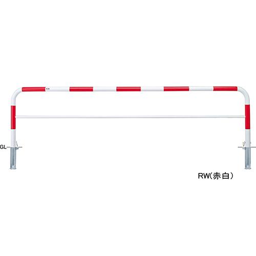 メーカー直送 サンポール アーチ 交換用本体のみ  [FAH-7SK30-800(W)HONTAI] φ60.5(t2.8)×W3000×H800mm SUNPOLE