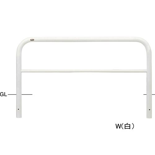 メーカー直送 サンポール アーチ φ60.5(t2.8)×W1500×H650mm カラー:白 [FAH-7U15-650(W)]