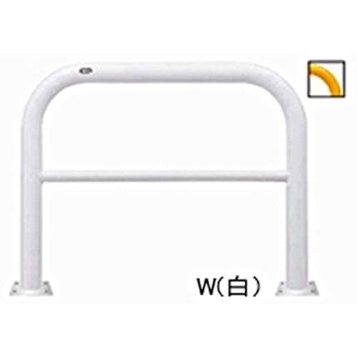 メーカー直送 サンポール アーチ φ76.3(t3.2)×W1000×H800mm カラー:白 [FAH-8B10-800(W)]