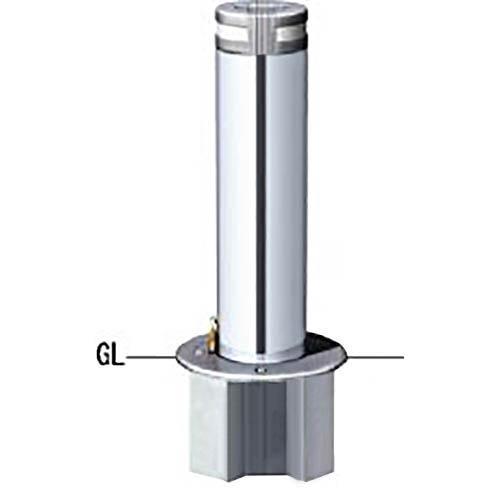 メーカー直送 サンポール リフター 軽操作上下式車止め 交換用本体のみ  [LA-17EKC-EHONTAI] φ165.2(t3.0)×H650mm SUNPOLE