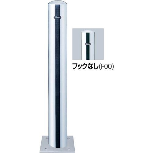 カラー:ステンレス 車止め ピラー φ114.3(t3.0)×H850mm メーカー直送 [PA-114B-F00] サンポール
