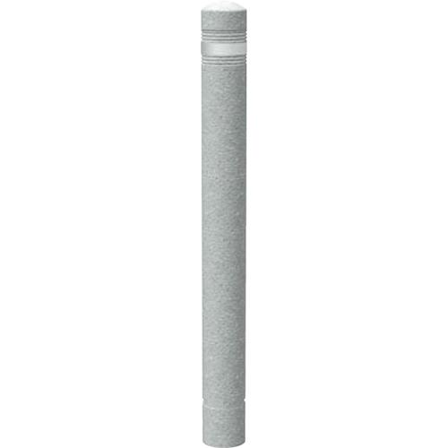 【法人様限定】メーカー直送 サンポール リサイクルボラード ラバーポスト φ80×H804mm カラー:白御影調 [RB-110(ST1)]