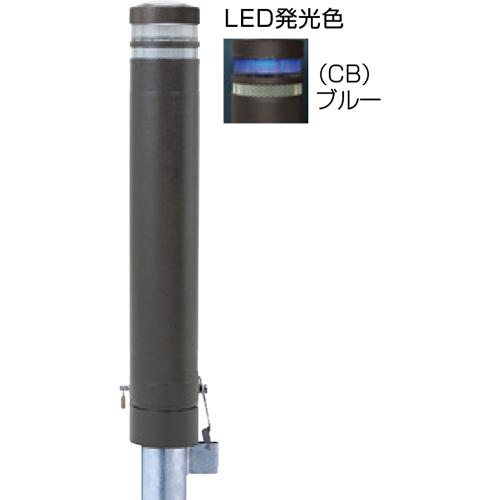 メーカー直送 サンポール リサイクルボラード  [RB-132SK-SOL(CB)] φ130×H826mm SUNPOLE