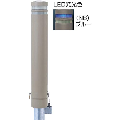 メーカー直送 サンポール リサイクルボラード φ130×H826mm カラー:グレーベージュ [RB-132SK-SOL(NB)]