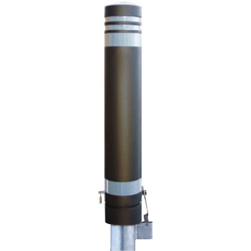 【法人様限定】メーカー直送 サンポール リサイクルボラード φ130×H826mm カラー:ダークブラウン [RB-133SK(SC)]