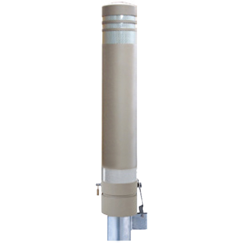 メーカー直送 サンポール リサイクルボラード  [RB-133SK(SN)] φ130×H826mm SUNPOLE