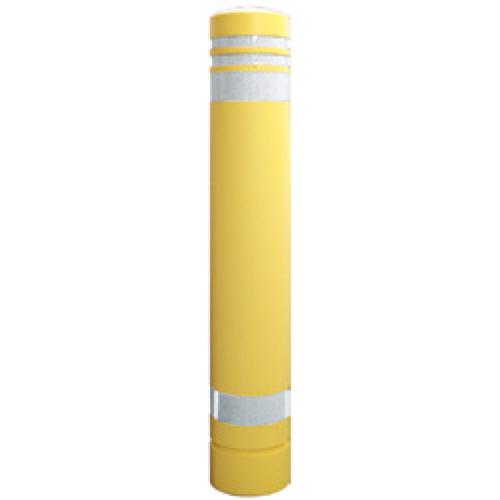 メーカー直送 サンポール リサイクルボラード φ130×H826mm カラー:イエロー [RB-133U(SY)]