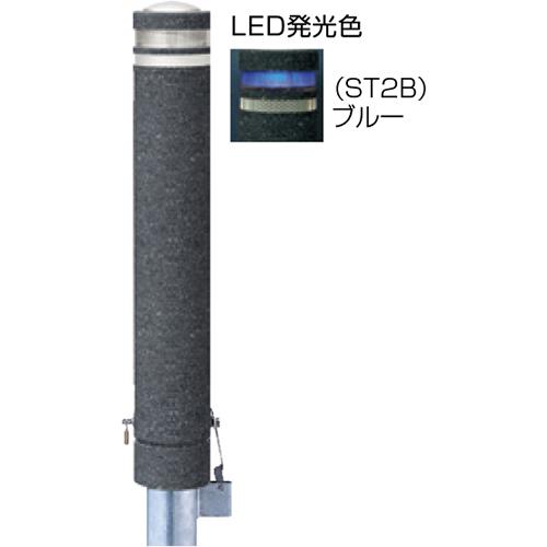 メーカー直送 サンポール リサイクルボラード φ130×H826mm カラー:黒御影調 [RB-134SK-SOL(ST2B)]
