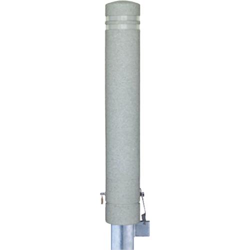 メーカー直送 サンポール リサイクルボラード φ130×H826mm カラー:白御影調 [RB-134SK(ST1)]