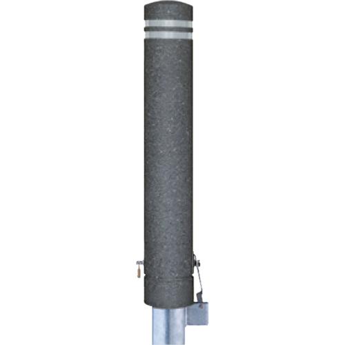メーカー直送 サンポール リサイクルボラード φ130×H826mm カラー:黒御影調 [RB-134SK(ST2)]