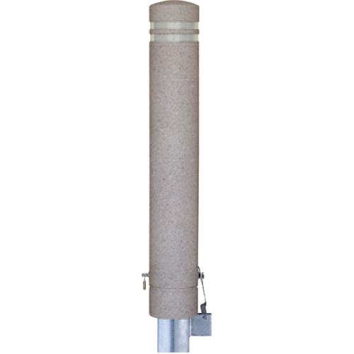 メーカー直送 サンポール リサイクルボラード φ130×H826mm カラー:桜御影調 [RB-134SK(ST3)]
